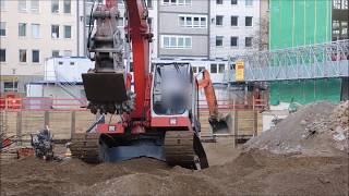 Excavator  O&K 6LC load on low loader