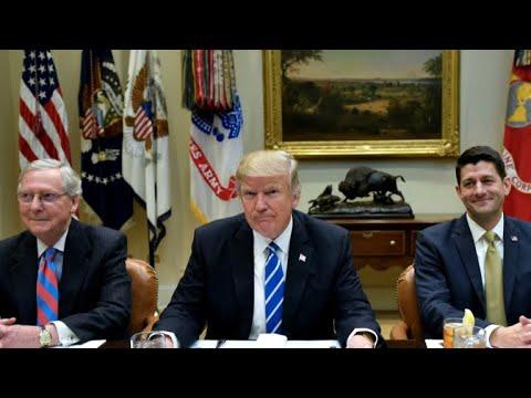 Trump throws Senate Majority Leader under the health care bus