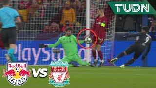 ¡Salah se queda a nada! | Salzburgo 0 - 0 Liverpool | Champions League - J6 - Grupo E | TUDN