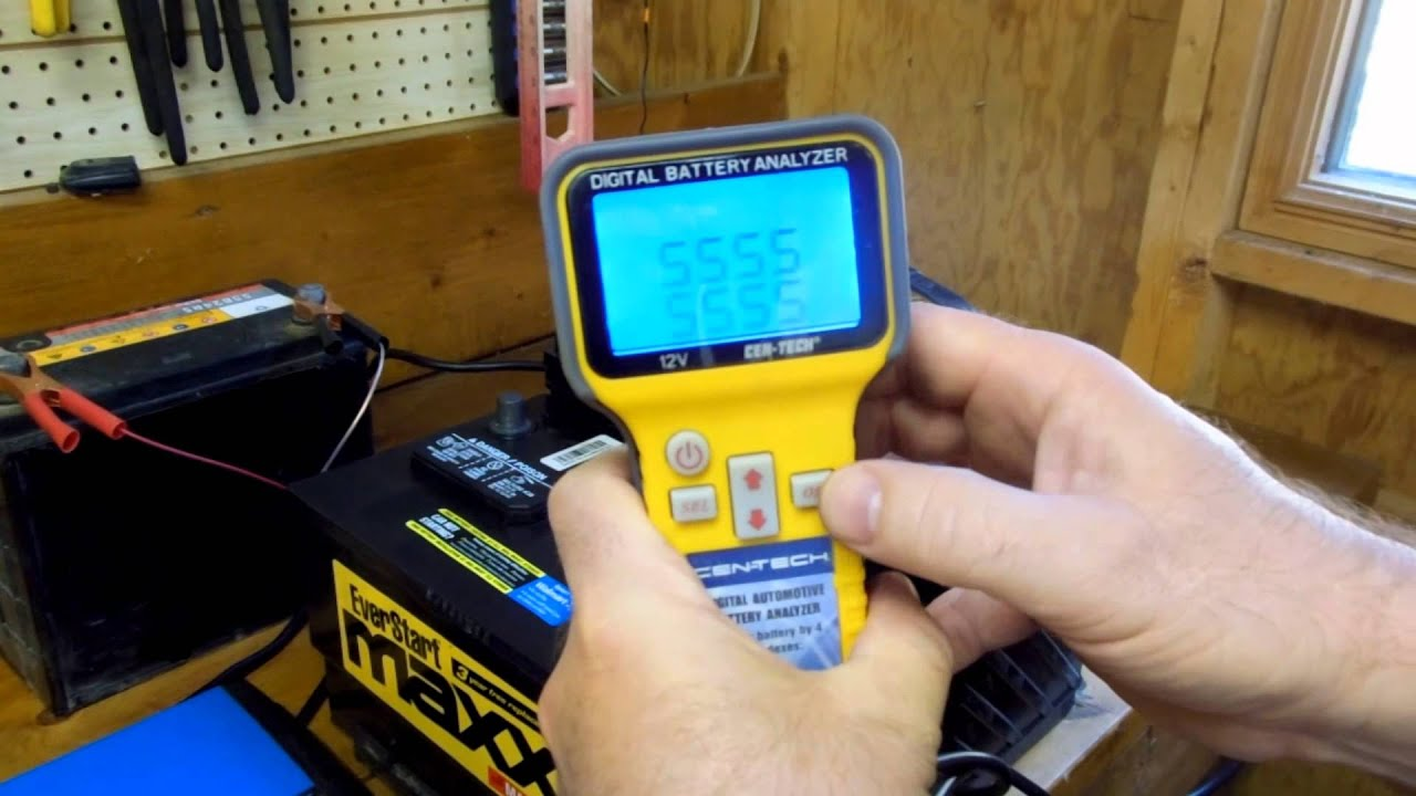 Low Battery Tester Harbor Freight : Harbor freight digital automotive battery analyzer item