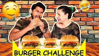She Eats like a Devil | Burger Challenge