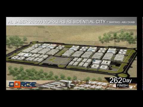 26.000 Men AL JABER MAFRAQ Prefabricated Accommodation Camp