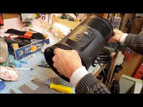 Honeywell Space Heater Not Working - Repair
