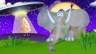 Газун и Инопланетяне Странная Встреча | Мультфильм для детей | Газун на русском