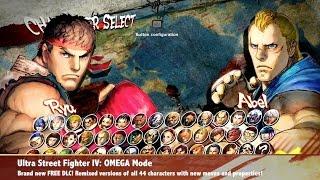 Combofiend  Explains OMEGA Mode - Ultra Street Fighter IV