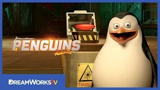DON'T PUSH THE BUTTON! | PENGUINS OF MADAGASCAR