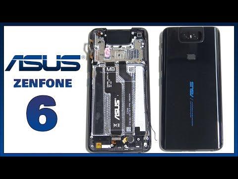 Asus Zenfone 6 / Asus 6Z Teardown Disassembly Repair Guide Video