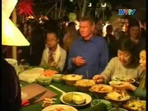 Phóng sự Đà Nẵng VTV về Chợ Quê Tết tại Furama Resort Danang, Viet Nam