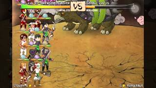 Ninja Warz 2- Easily Defeat Genbu & Food Acheivement!