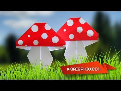 Amanita muscaria from paper - Mushrooms