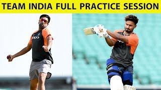 WATCH: Team India's Practice Session at Wellington Ahead of 1st Test | Ind vs Nz