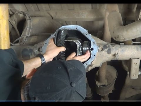 how to change rear wheel bearing on 2005 dodge 3500