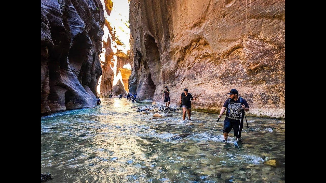 The Narrows Hike at Zion National Park, Utah - Wall Street ...