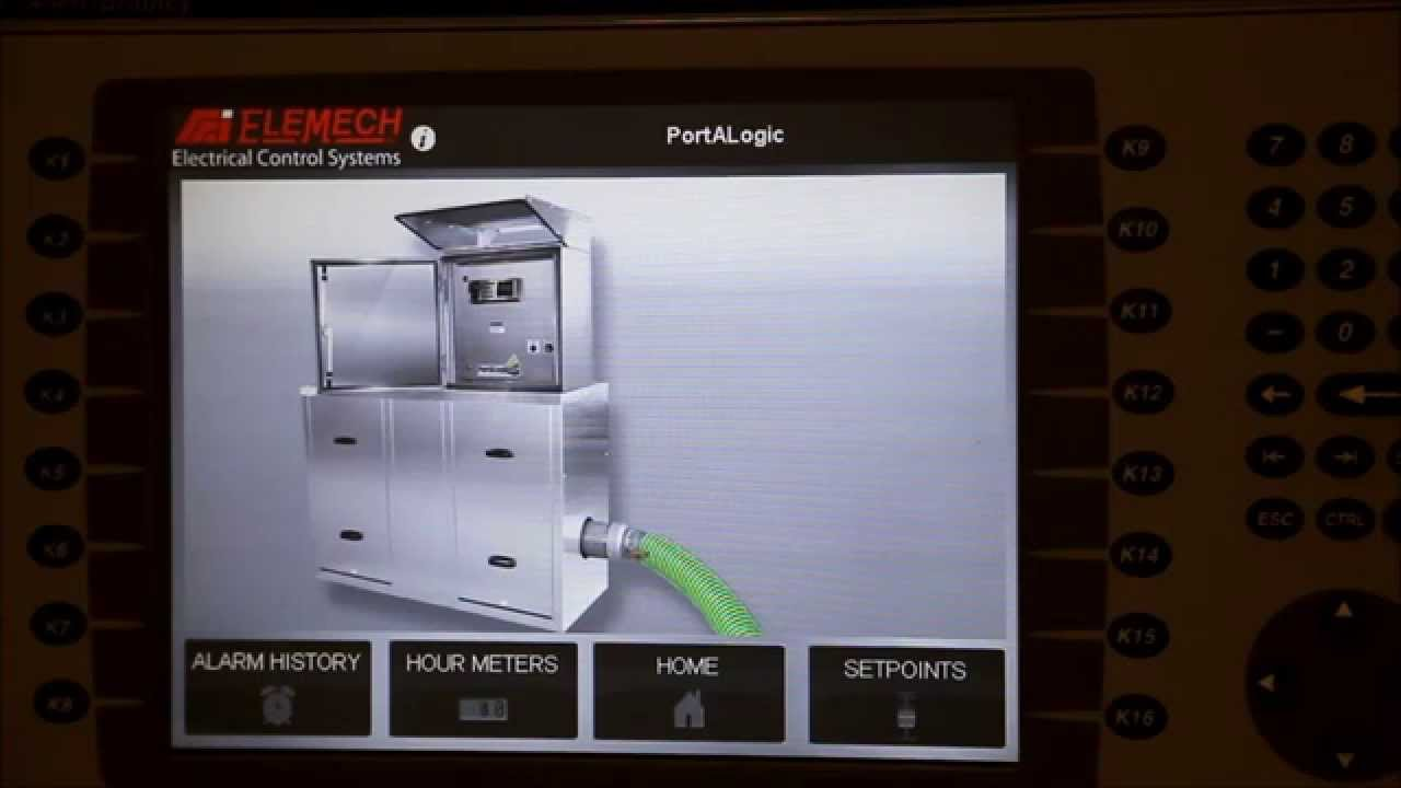 Change the Date and Time on a Panelview Plus 1000 HMI