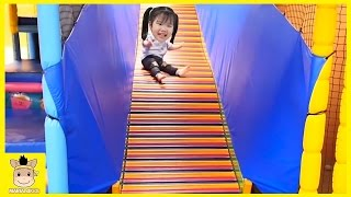 Indoor Playground Learn Kids Colors Color Ball Rainbow for Play Slide Fun Family | MariAndKids Toys