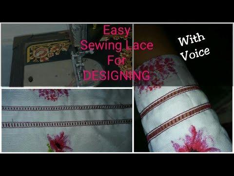 joint-net-lace-for-trouser,-kurtis-/kameez-sleeves-&-pannels-designing-easy-make-at-home-/urdu