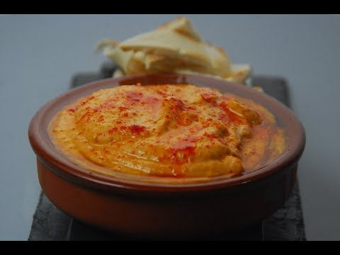 Spiced Red Pepper Hummus | Cooksmart | Sanjeev Kapoor Khazana