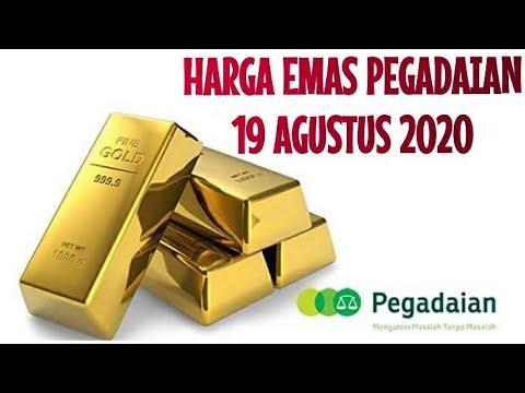 Harga Emas Pegadaian Antam Hari ini 19 Agustus 2020, Investasi Emas from YouTube · Duration:  1 minutes 11 seconds