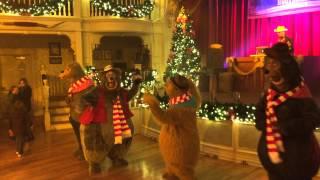 Backstreet Bears at The Holiday Hootenanny