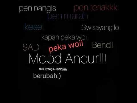 Kata Kata Menghancurkan Mood Untuk Chat