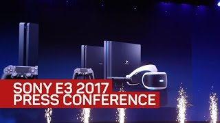 What really mattered at Sony's E3 2017 press conference