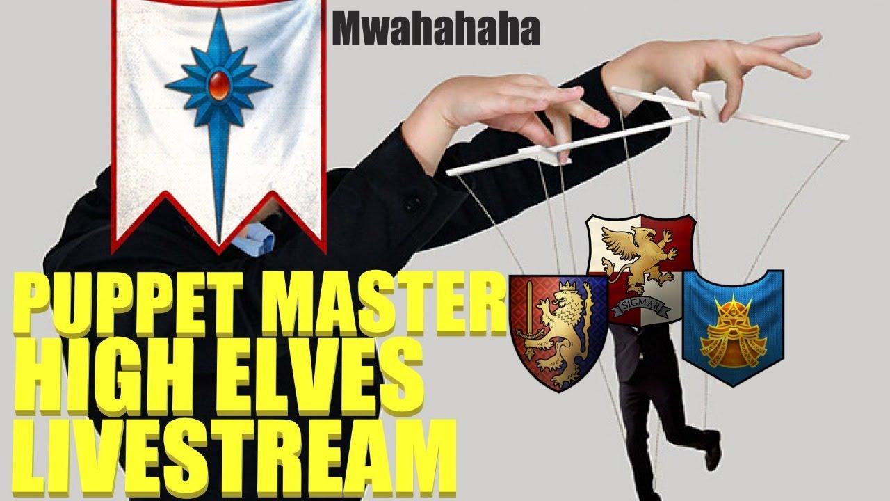Download Puppet Master High Elves Livestream