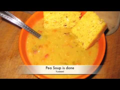 Yellow Split Pea Soup - Great For Two Reasons!