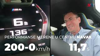 BMW M3 i M4 - TEST NA STAZI NAVAK