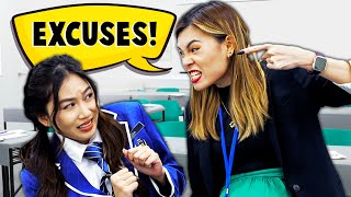 12 EXCUSES Students Make to Escape Class