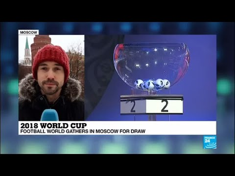 Russia: Football world gathers in Moscow for 2018 World Cup draw