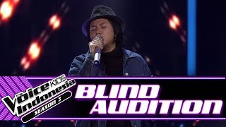 Alisha - Mother May I Sleep With Danger | Blind Auditions | The Voice Kids Indonesia Season 3 2018