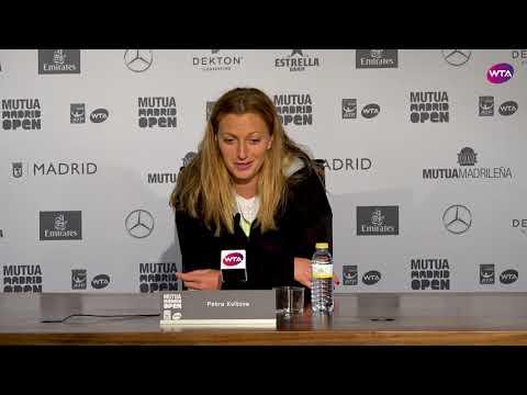 Petra Kvitova Press Conference | 2018 Mutua Madrid Open Final