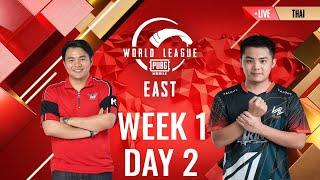 THA  W1D2 - PMWL EAST - League Play PUBG MOB LE World League Season Zero 2020