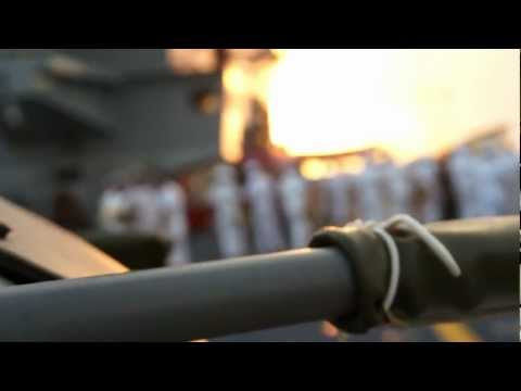 BASKET ON BOARD Portaerei Cavour [ BASKETBALL ON AIRCRAFT CARRIER ]