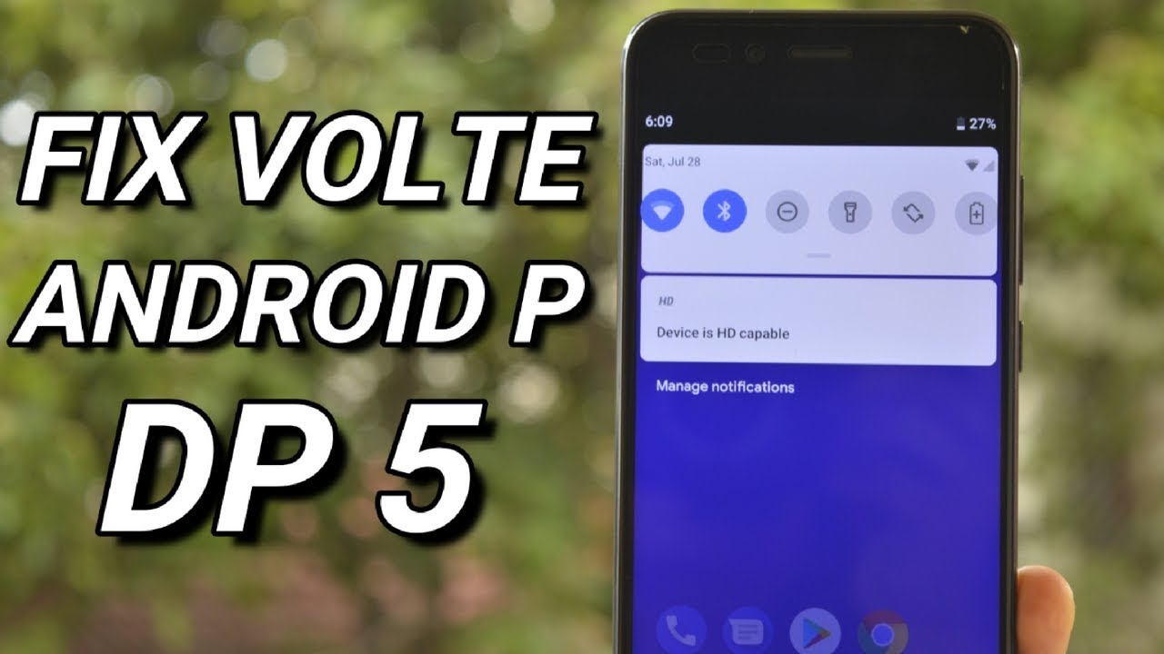 Fix VoLTE on Android P DP5 MI A1!!!