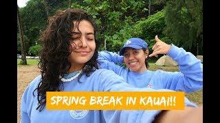 CAMPING IN HAWAII FOR A WEEK!   SPRING BREAK 2018 VLOG