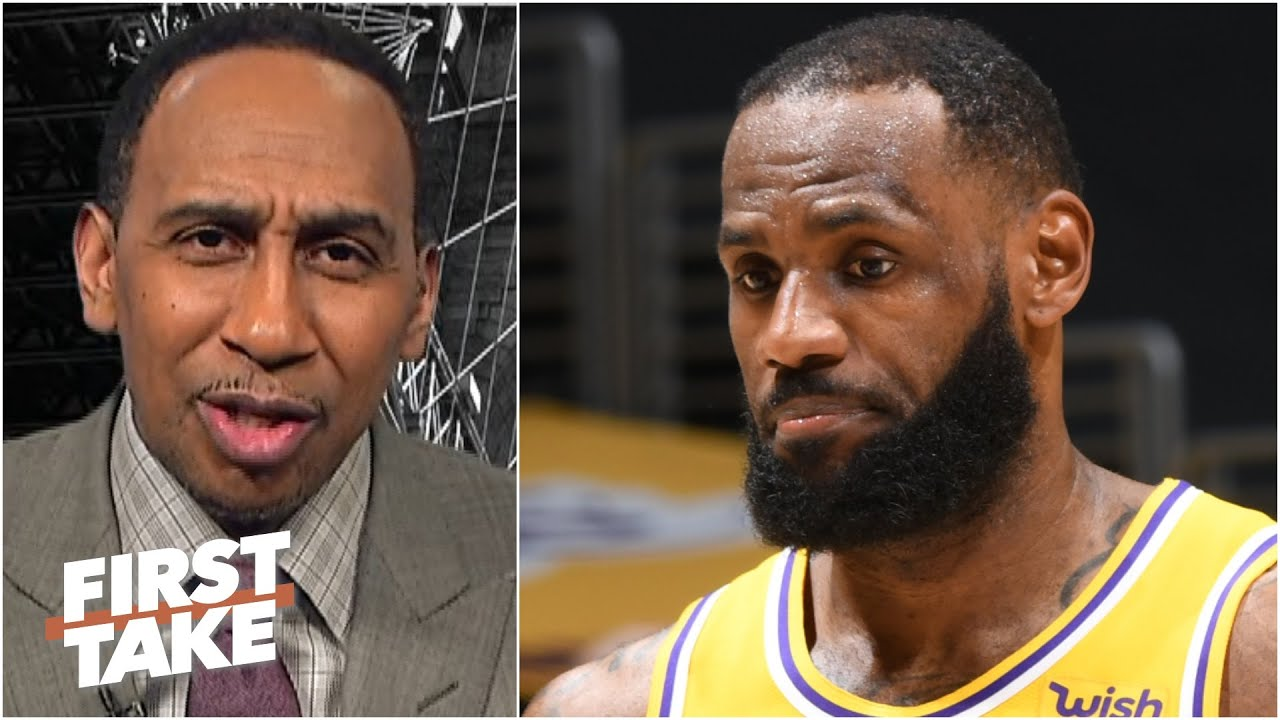Is it fair to call LeBron a flopper? Stephen A. says a rule against flops could be made | First Take