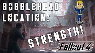 Fallout 4: STRENGTH Bobblehead Location - Mass Fusion Building!