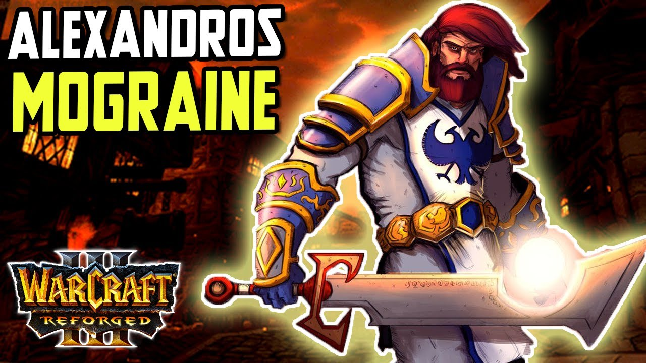 War in the Plaguelands: Reborn | Alexandros Mograine | Warcraft 3 Reforged