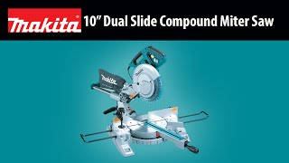 "Makita 10"" Dual Slide Compound Miter Saw (instagram Version)"