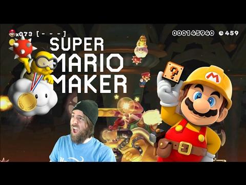 Meet Lakitu, Olympic Gold Medalist Sniper   SUPER EXPERT NO SKIP [#05] - Super Mario Maker