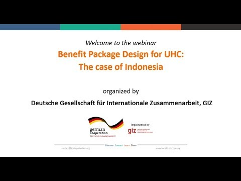 Benefit Package Design for Universal Health Coverage  The case of Indonesia