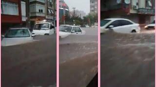 Antalya'da Sel Felaketi. Böylesini Görmediniz