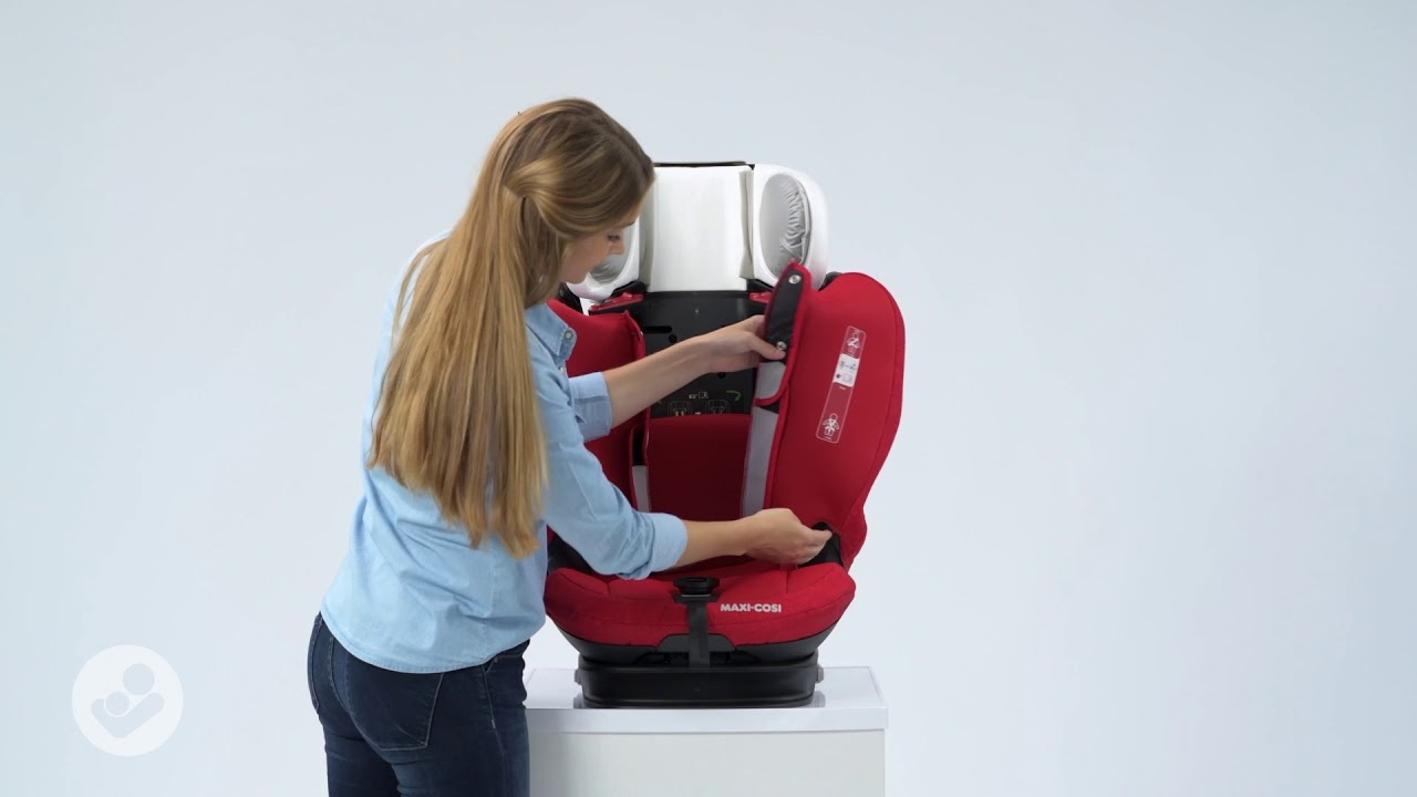 Maxi Cosi Titan Pro Car Seat How To Remove The Cover And Install The Cover Youtube