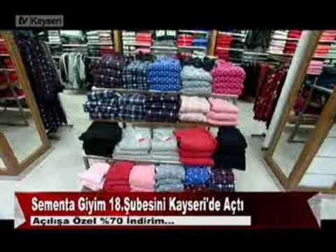 7f1284f344b3b Sementa Giyim 18.Şubesini Kayseri'de Açtı 23.02.2018 - YouTube