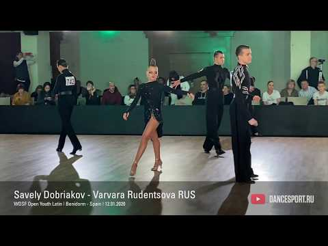 Savely Dobriakov - Varvara Rudentsova RUS, Samba / DanceSport Cup, Benidorm