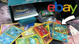 WON THIS POKEMON EBAY AUCTION.. YOU WON'T BELIEVE WHAT I FOUND!