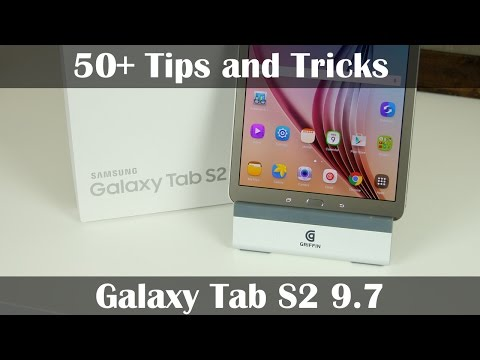 50+ Tips and Tricks for Samsung Galaxy Tab S2 9.7""