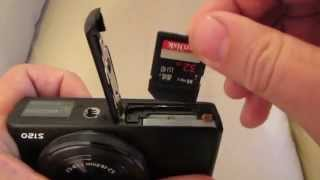 SanDisk Extreme PRO SDHC UHS-I 32GB Memory Card Unboxing + Fitting in Camera