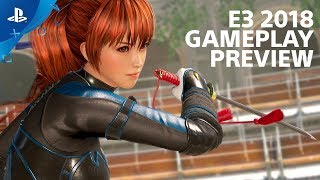 Dead or Alive 6 - Gameplay Preview | PlayStation Live From E3 2018
